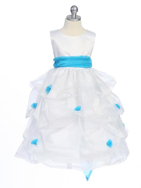 Kaufen Sie Authentic schnelle Farbe detaillierte Bilder Blumenmädchen Blumenmädchenkleid Blumenmädchenkleider