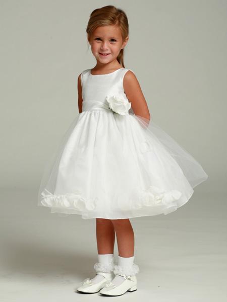Купить Детское Белое Платье