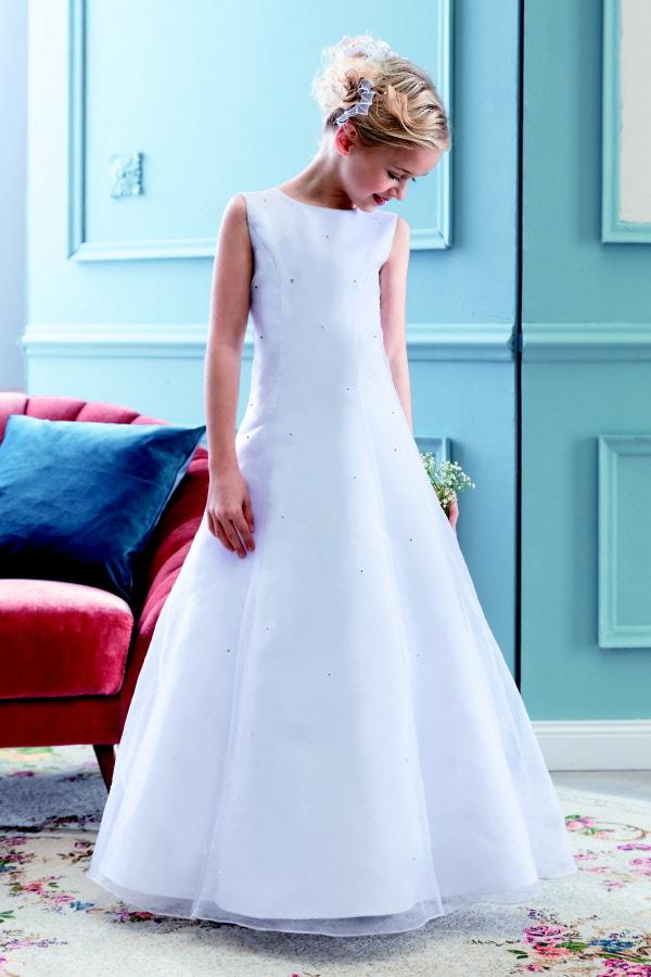 Kinder-Kleidertraum Kommunionkleid pure white Emmerling 77712
